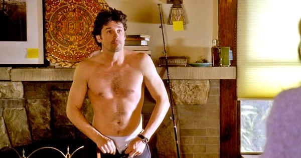 Derek Shepherd Shirtless Season 1 In Meredith's Room