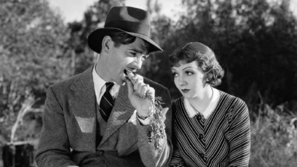 movies, celebs, It Happened One Night, Clark Gable, Claudette Colbert, 1934