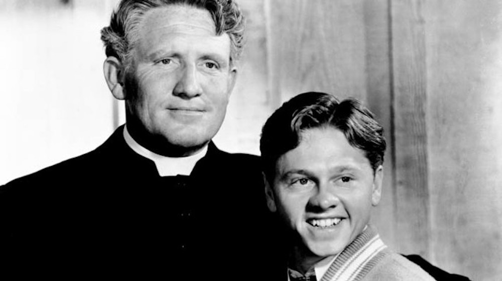 movies, celebs, boys town, 1938, Spencer Tracy, mickey rooney