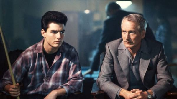 movies, celebs, the color of money, 1986, paul newman, tom cruise