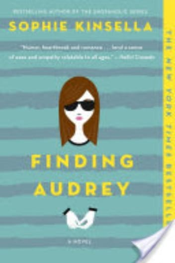 Book cover for Finding Audrey.