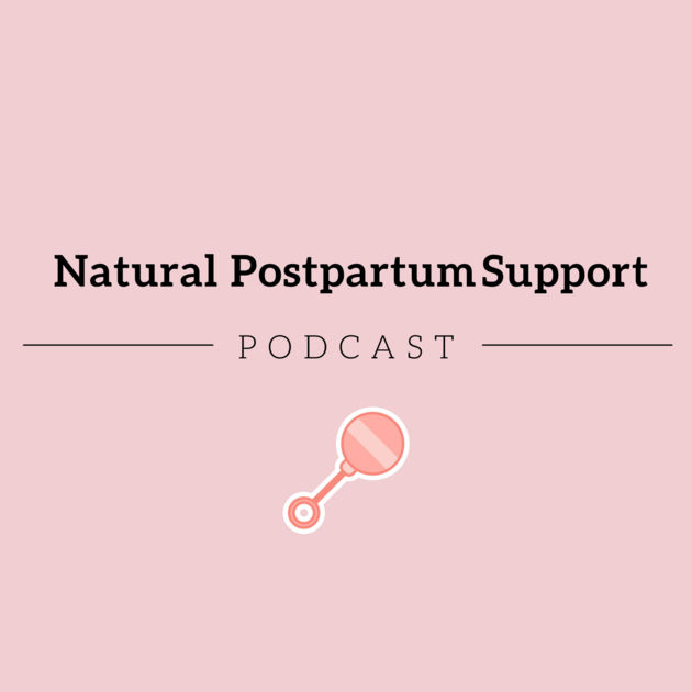 Cover art for Natural Postpartum Support Podcast