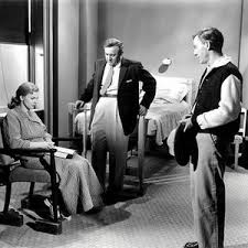 Scene from the movie The Three faces of Eve.