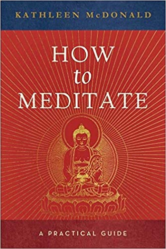 Book cover for How to Meditate
