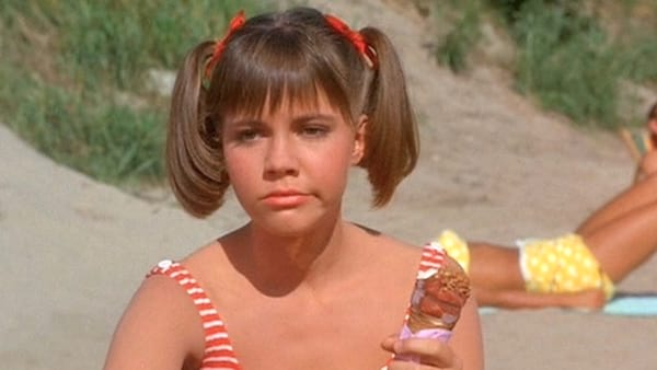 Young Sally Fields in TV show \Gidget\. sally fields, baby boomers, history, think, quiz, food, eating, Vintage, hero