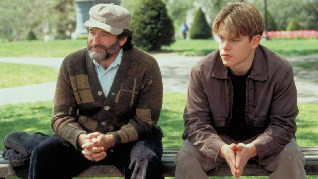 Scene from the movie Good Will Hunting.