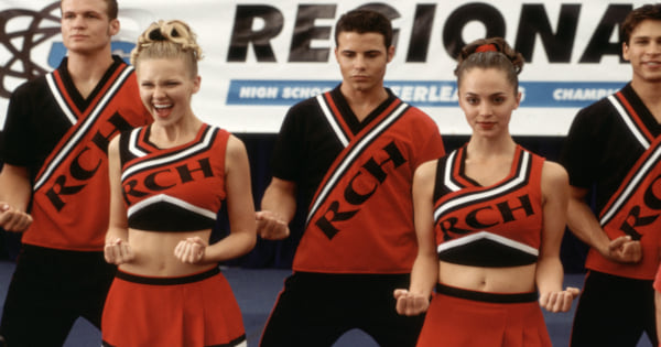 Cheerleaders cheering in Bring It On