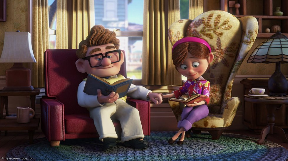 Scene from the Disney movie UP.