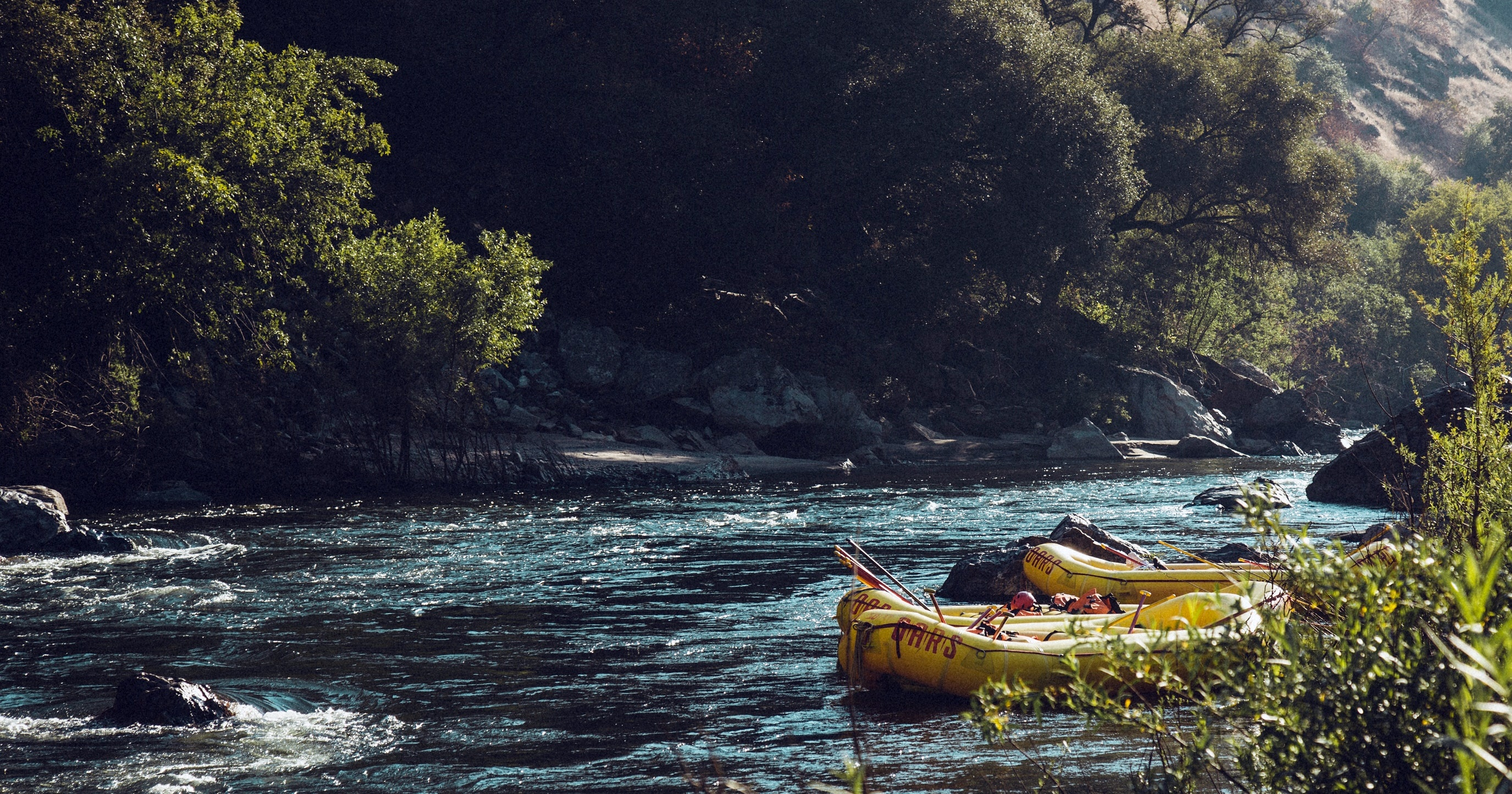 white water rafting instagram captions, Yellow rafts on a river, fitness