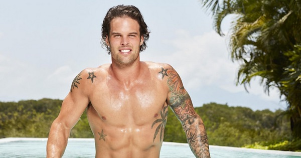 Kevin Wendt shirtless bachelor in paradise season 5