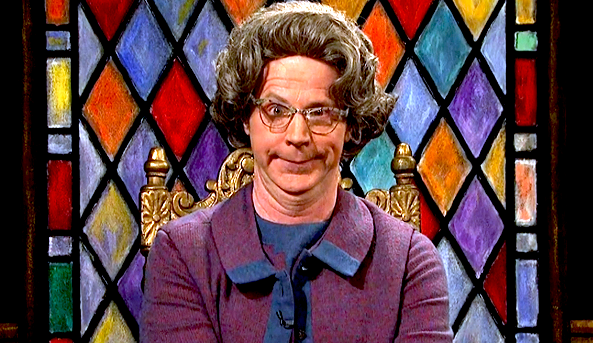 tv, celebs, saturday night live, dana carvey, churchlady