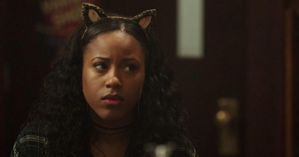 Melody Valentine cat ears on head Riverdale