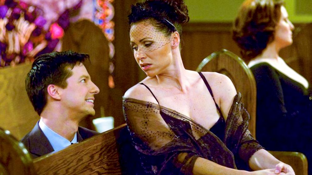 tv, Will & Grace, celebs, Sean Hayes, Minnie Driver