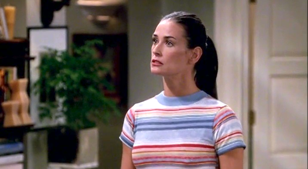 tv, Will & Grace, celebs, demi moore as sissy