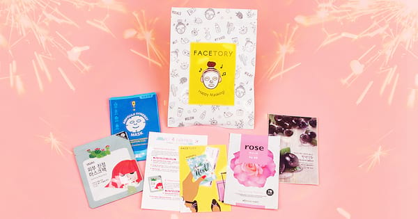 Facetory reviews, face mask subscription box, beauty, skin care