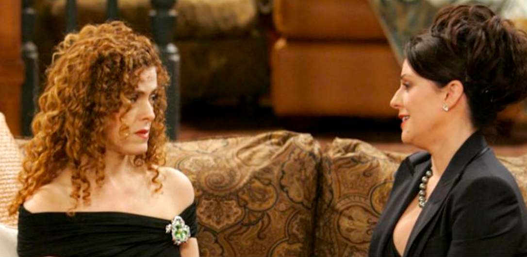 tv, Will & Grace, celebs, bernadette peters, Megan Mullally
