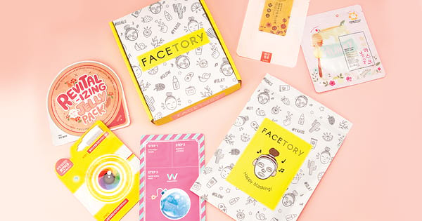 facetory review, 2018, sheet mask subscription box