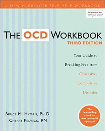 Cover for The OCD Workbook.