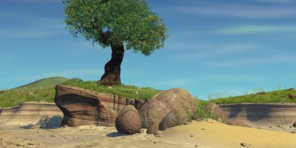 The Island from Pixar's A Bug's Life, movies