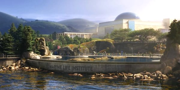 The Marine Life Institute from Pixar's Finding Dory, movies