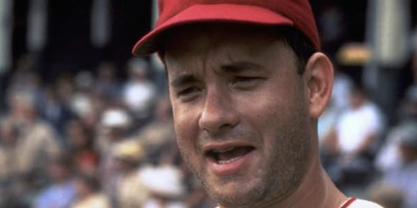 A League Of Their Own, tom hanks, tom hanks movie, movies
