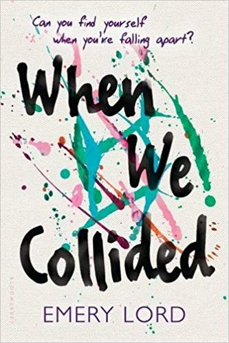 Book cover for when we collided