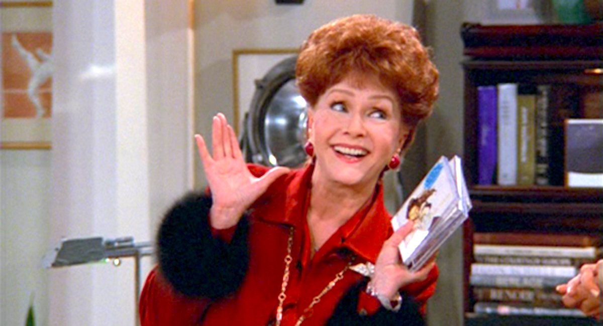 tv, celebs, Will & Grace, debbie reynolds as bobbi adler