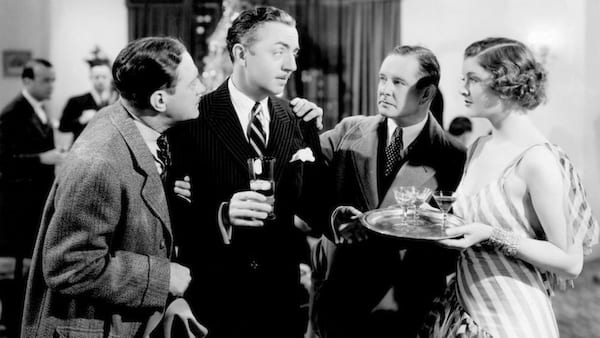 movies, the thin man, 1934, william powell as nick charles, myrna loy as nora charles, mystery/crime