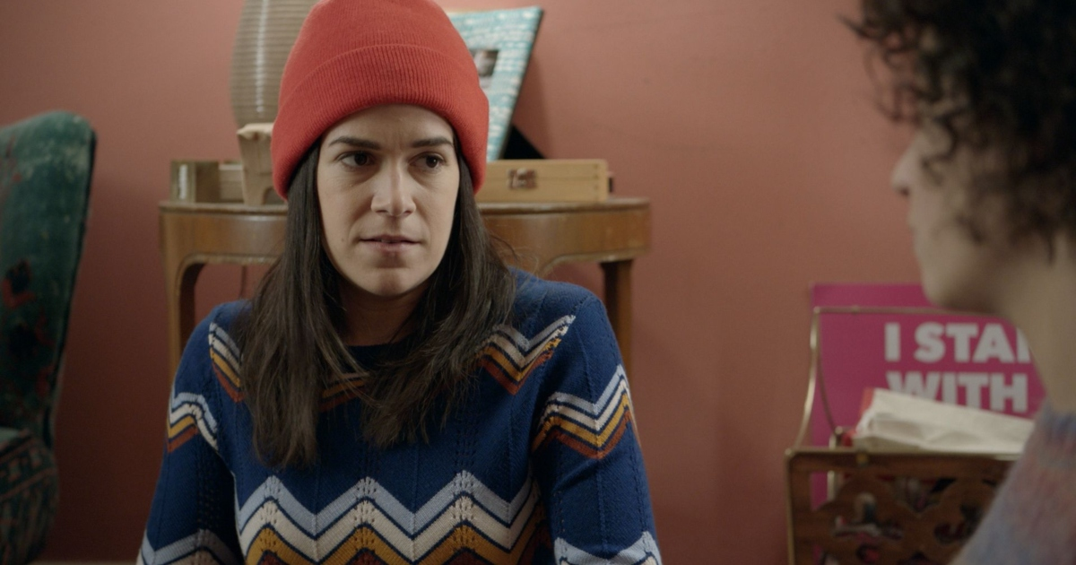 Scene from the show Broad City.