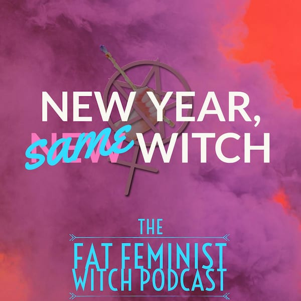 Artwork for The Fat Feminist Witch podcast