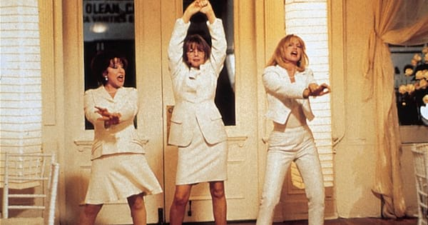 Scene from the movie The First Wives Club.
