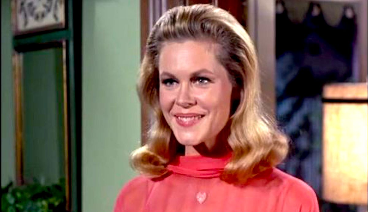 AMC, tv, celebs, bewitched, elizabeth montgomery as samantha stevens