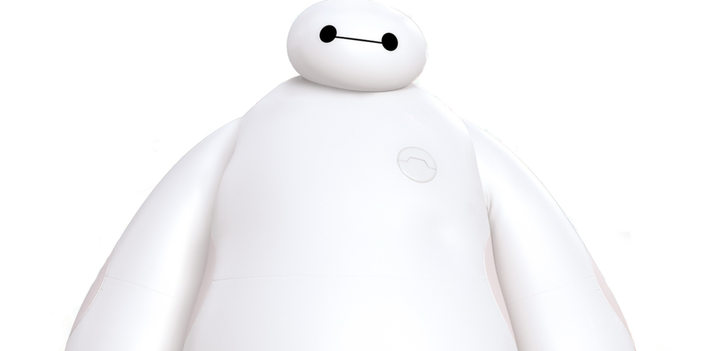 Baymax from Disney's Big Hero 6 standing normally, movies