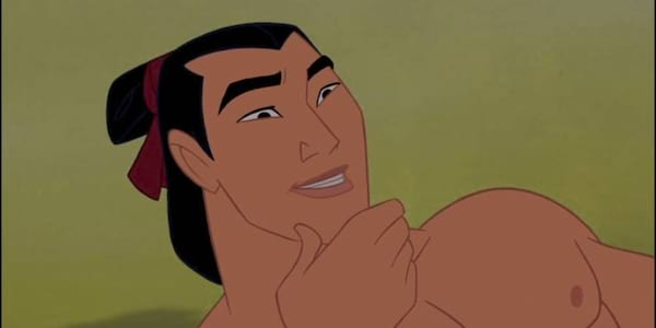 Shang from Disney's Mulan recoils from a hit, movies