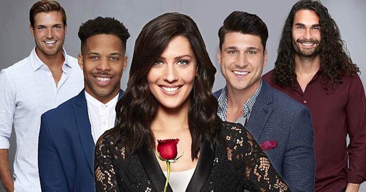 The Bachelorette season 14 Becca Kufrin with men