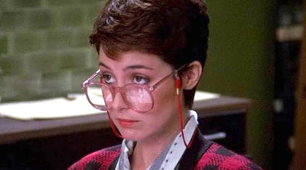 movies, ghostbusters, 1984, annie potts as janine