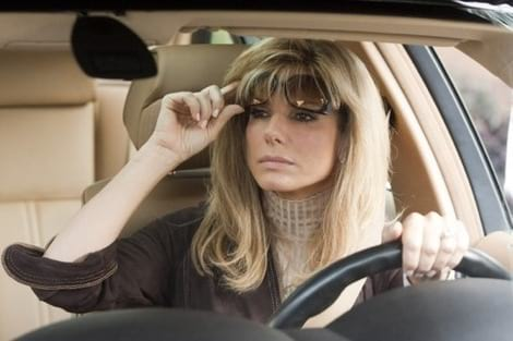 The Blind Side, driving, permit