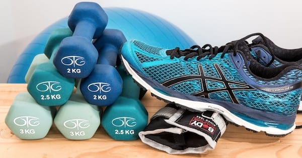 shoes weights medicine ball, health fitness