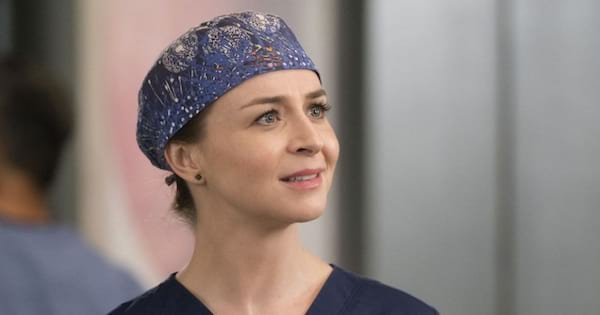 Grey's Anatomy season 15, Amelia Shepherd looking up close up