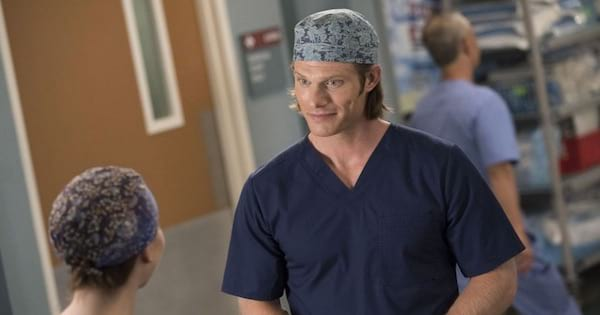 Grey's Anatomy season 15, Chris Carmack talking to Amelia Shepherd