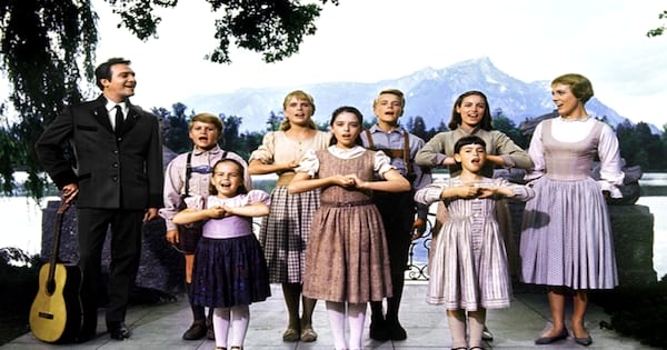 The family in The Sound Of Music
