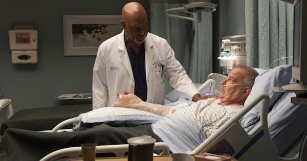 Grey's Anatomy season 15, Richard Webber over patient in hospital bed