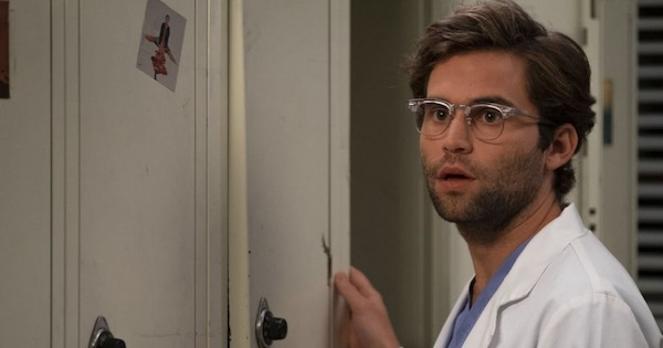 Jake Borelli looking surprised, Grey's Anatomy season 15