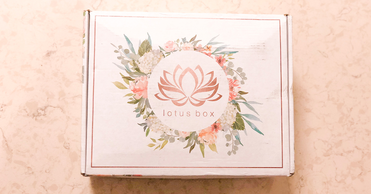 lotus box review, period pms subscription box
