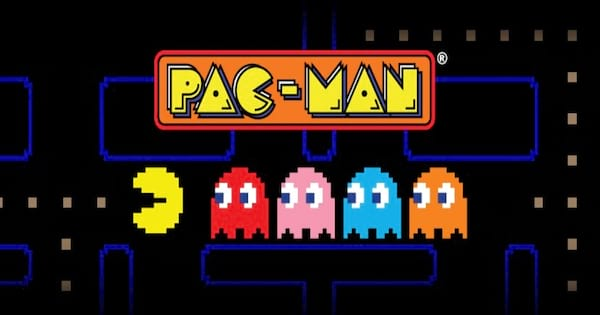 Pac-Man Title Screen