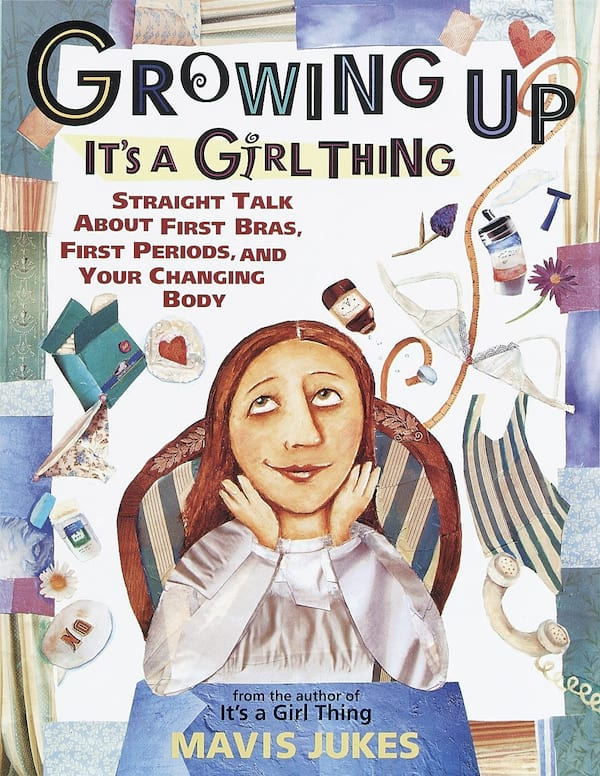 my first period books for girls, daughters, 2018