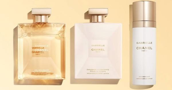 Chanel perfume deodorant and lotion bottle, Best Skincare brands ranking