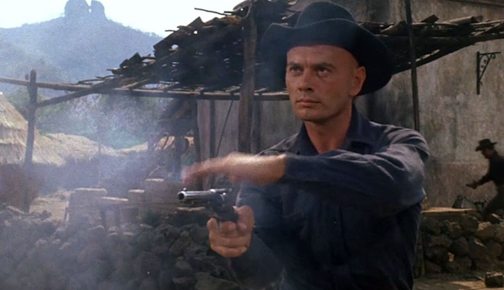 movies, celebs, The Magnificent Seven, 1960, yul brynner, Western