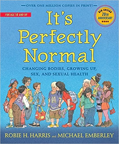 Book cover for 'It's Perfectly Normal' by Robie H. Harris and Michael Emberley
