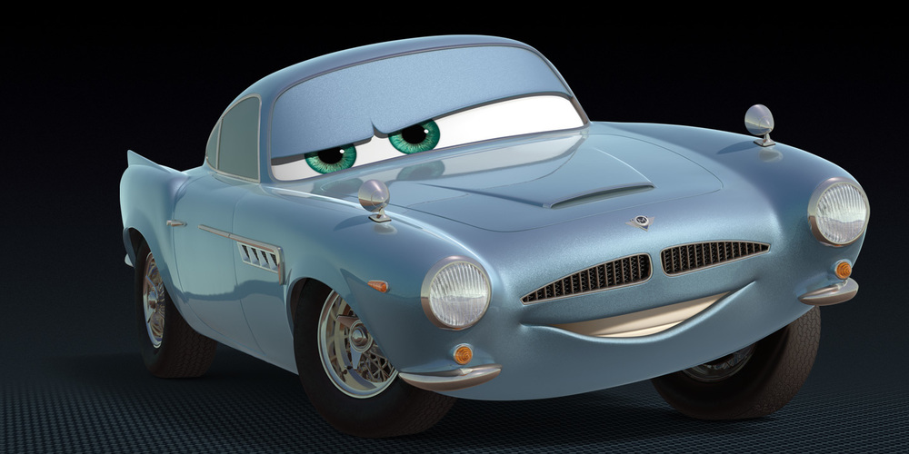 Finn McMissile  from Pixar's Cars 2, movies